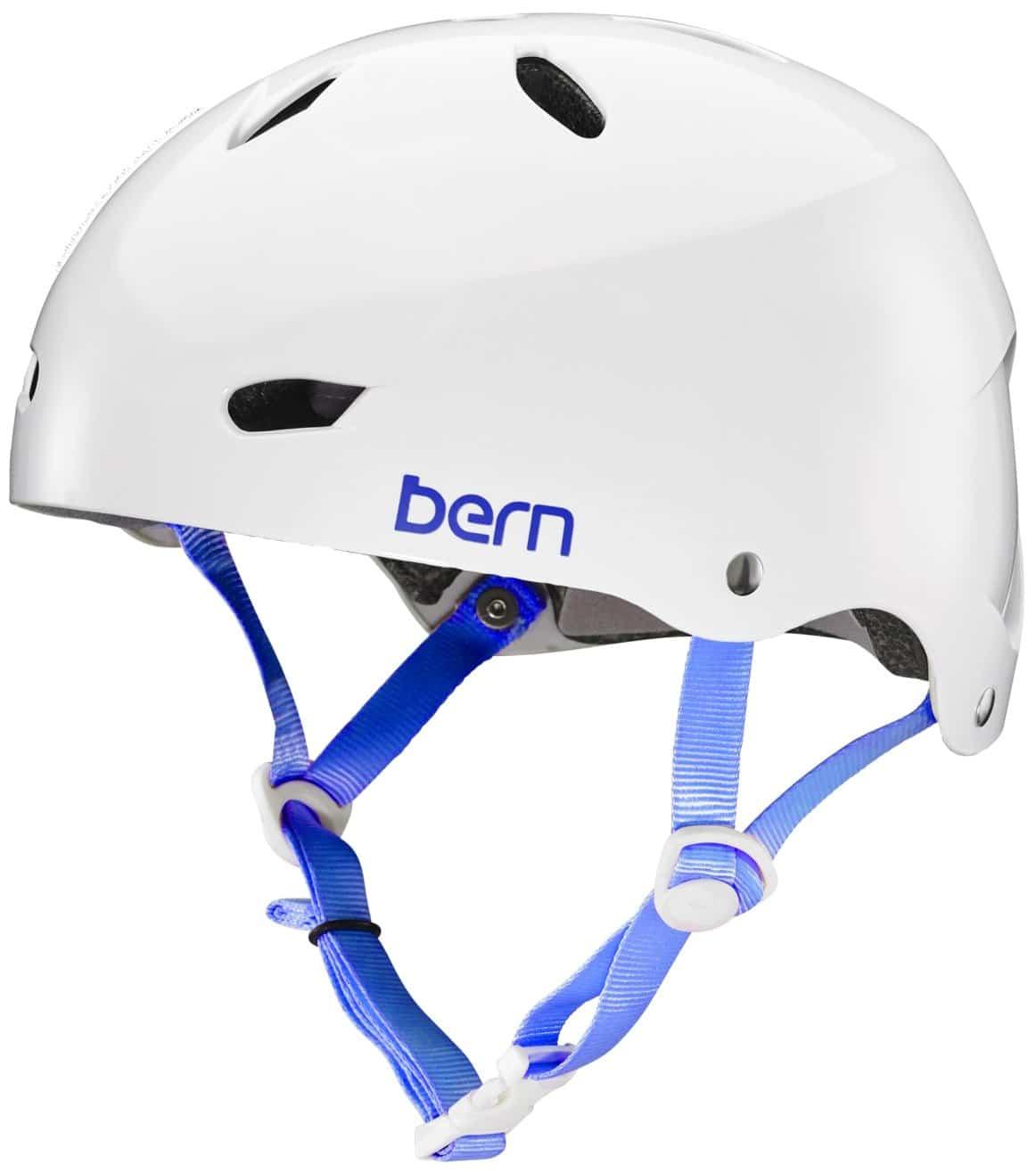 Bern Erwachsene Helm Brighton, weiß-glänzend